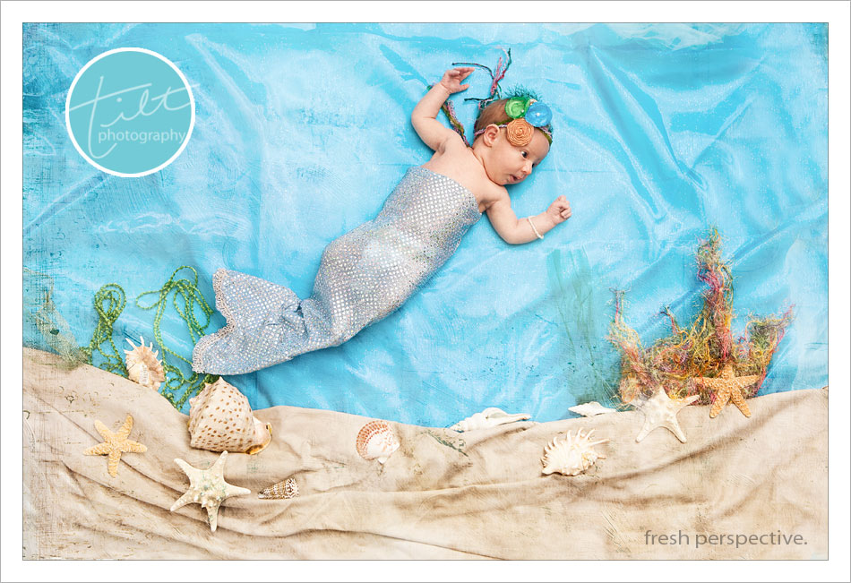 baby mermaid, storybook